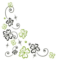 Sylvester, Neujahr, Glück, Klee, Glücksklee