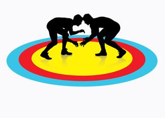 Wrestling background