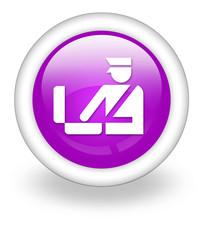 "Violet Icon ""Customs Symbol"""