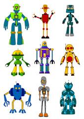 Spoed Foto op Canvas Robots Mechanical robots