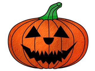 Lovely pumpkins for Halloween by Teerawat Kamnardsiri.