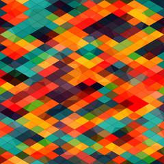 multicolored diamond seamless
