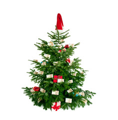 geldgeschenke am weihnachtsbaum