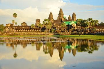 The Reflection of Angkor Wat