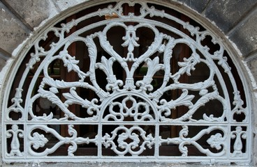 background texture, ornamental wrought-iron