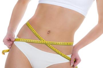 Ein schöner schlanker Bauch