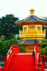 Pavilion of Absolute Perfection in the Nan Lian Garden, Hong Kon