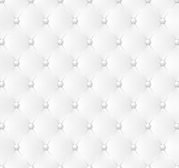 Obraz Capitonné blanc-1 - fototapety do salonu