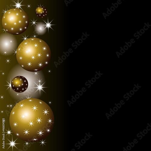 weihnachtskugeln hintergrund schwarz gold stockfotos und lizenzfreie vektoren auf. Black Bedroom Furniture Sets. Home Design Ideas
