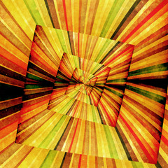 Papiers peints Psychedelique Multicolor Sunbeams grunge background