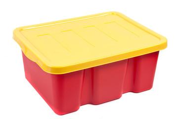 plastic colorful box