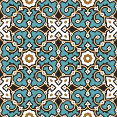 Hamadan Seamless Pattern Four