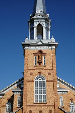 Quebec, the historical church of Tracadieche carleton