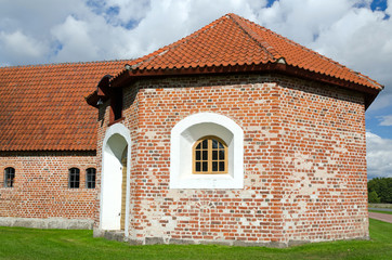 Small defend tower of Swedish castle
