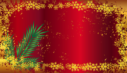 Vector Christmas background illustration