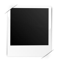 Polaroid im Fotoalbum