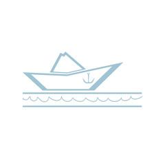 Paper Boat Symbol