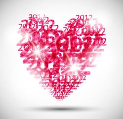 heart, valentine background