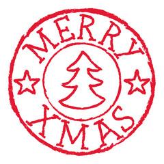 Postmark, Merry Xmas, stamp, christmas, Poststempel