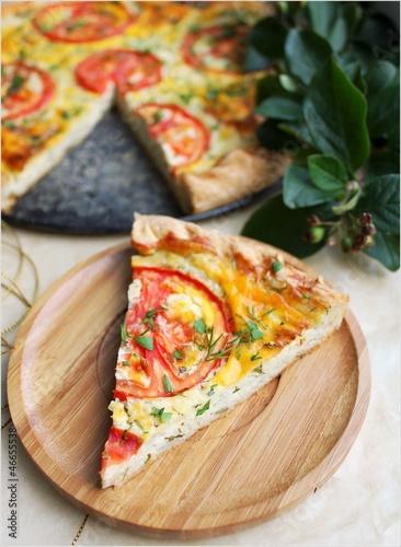 Пицца с творогомы