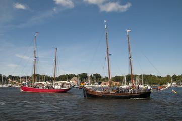 Hanse Sail, Rostock, Mecklenburg-Vorpommern, Deutschland
