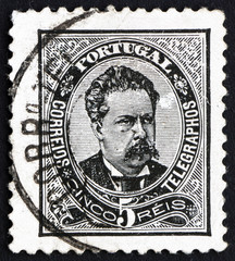 Postage stamp Portugal 1883 King Luiz, King of Portugal