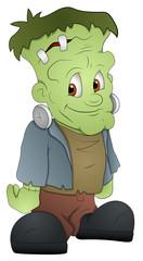 Frankenstein - Cartoon Character - Vector Illustration