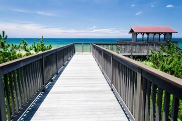 海への木道