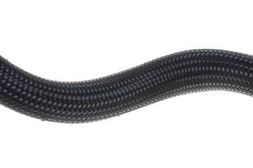 Black stainless steel braid