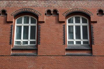 Fenster in der Speicherstadt