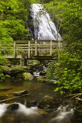 Crabtree Falls, just off the Blue Ridge Parkway in North Carolina