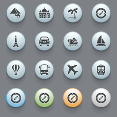 Internet icons for web site, set 3.