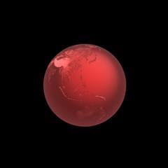 Globe, 3D render.