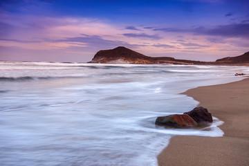 Genoveses beach and sea