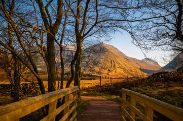 Glencoe Highland mountains Scotland