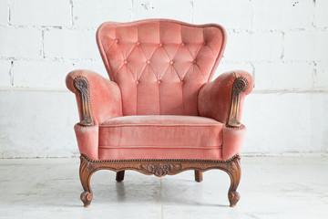 Fototapeta Pink Armchair sofa obraz