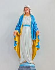 Statues of Holy Women in Roman