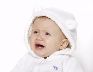 płaczące niemowle