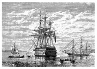 Ship 19th century - Le Bordas