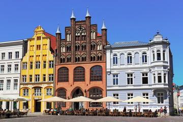 Fototapeta Stralsund, Marktplatz