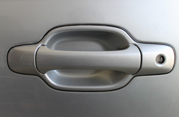 Car door closeup