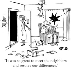 It was so great to meet the neighbors