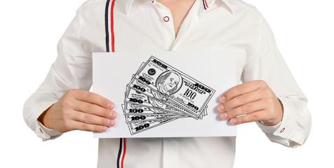 drawing dollars