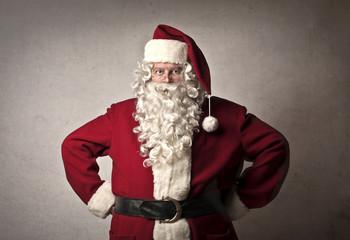 Serious Santa Claus