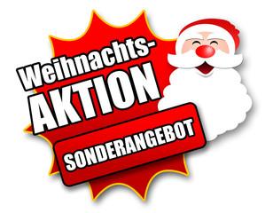 """Siegel """"Weihnachtsaktion - Sonderangebot"""""""