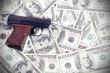 gun on the money