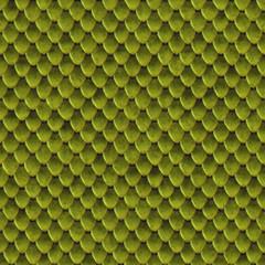 Green lizard skin seamless background or texture