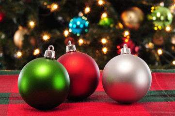 Christmas ornament. Background