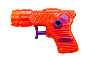 Orange toy gun