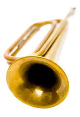 Close-up of bugle